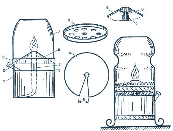 Как сделать фитиль для керосиновой лампы