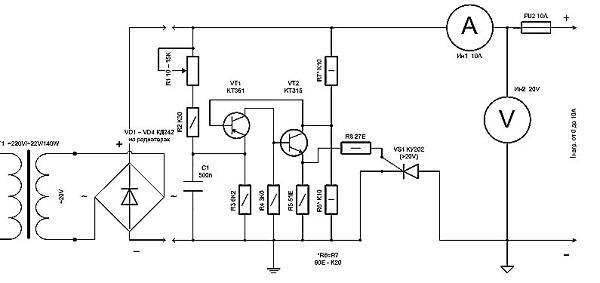 Блок управления заряда для аккумулятора своими руками