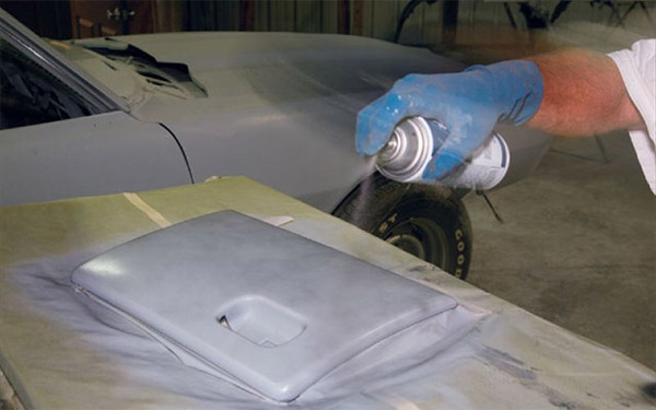 Автопокраска на старую краску из баллончика
