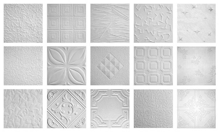 Дизайн потолков из потолочных плиток