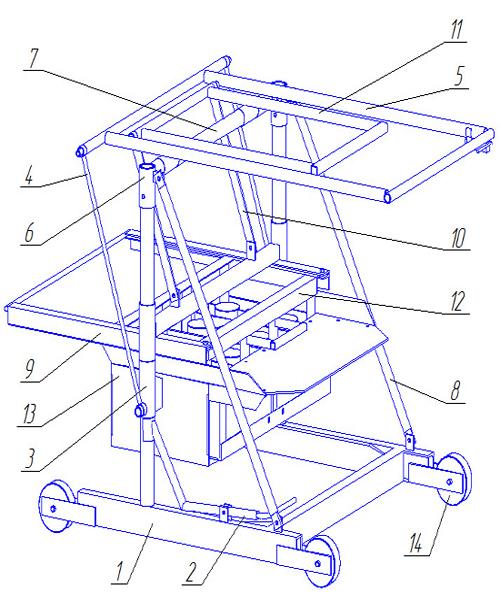Как изготовить станок для изготовления шлакоблоков своими руками 94