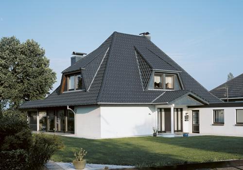 Металлическая крыша на дом