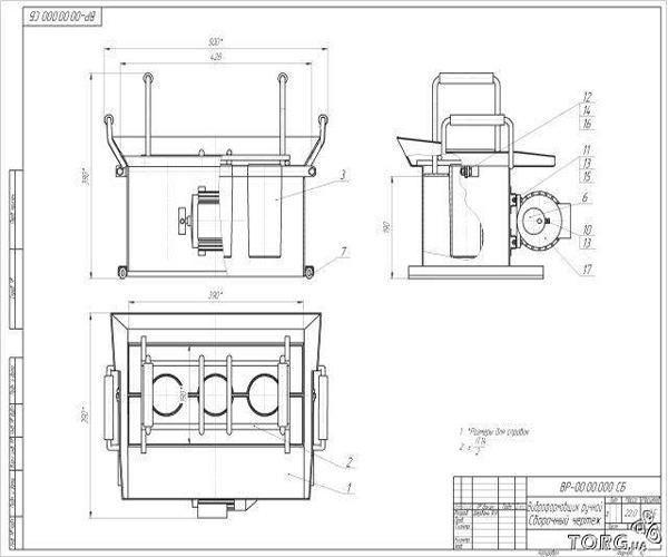 Станок для изготовления керамзитоблоков чертежи