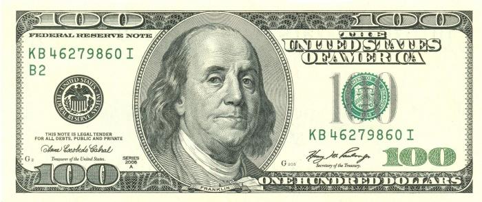 доллар фото купюры