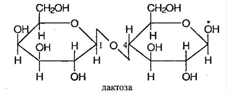 Дисахариды Свойства дисахаридов
