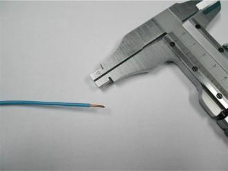Чем отличается сечение от диаметра кабеля