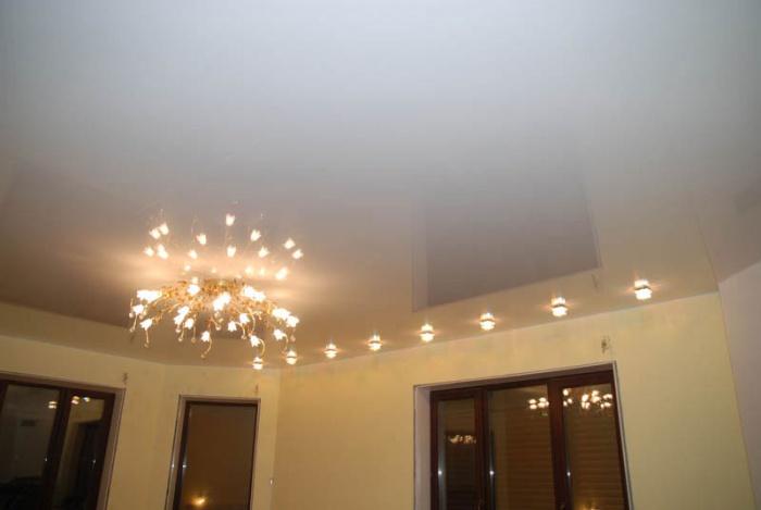 Идеи двухуровневых потолков - новости недвижимости | 469x700