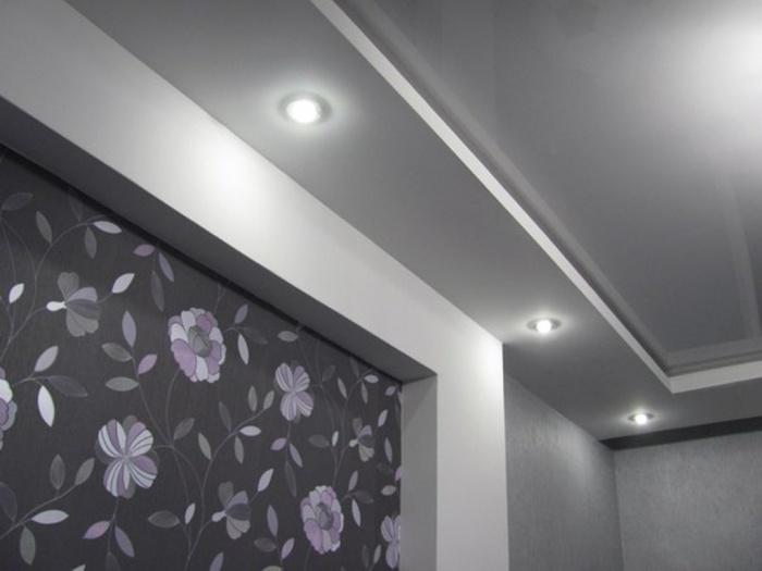 подключение точечных светодиодных светильников схема