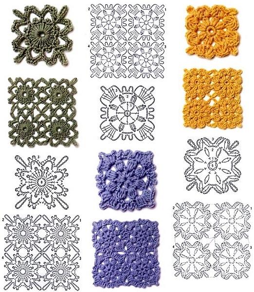 Коллекция схем для вязания крючком 33