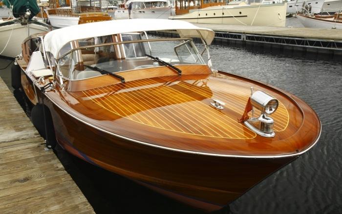 деревянные лодки и яхты