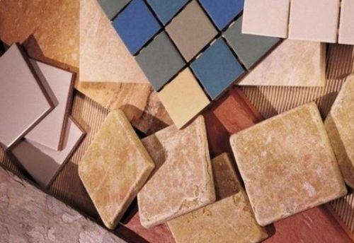 Виды керамической плитки для пола