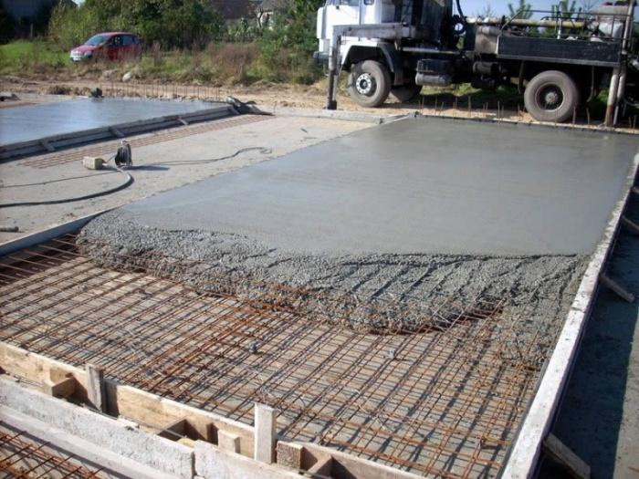 монолитных бетонов